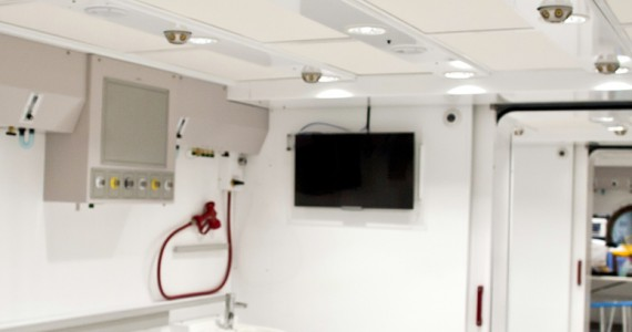 Fiona Stanley Hospital Hyperbaric Chambers