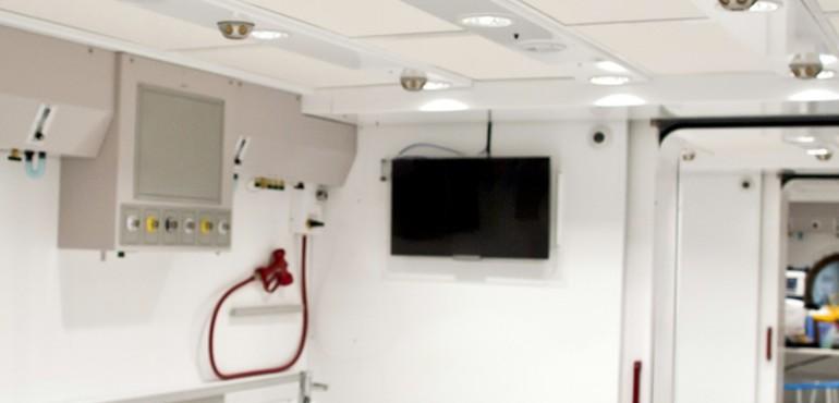 Fiona Stanley Hospital Hyperbaric Chambers