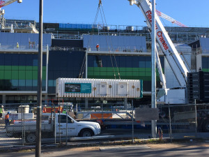 Triple Lock chamber on site at the New Royal Adelaide Hospital
